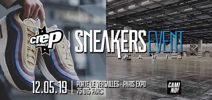 Affiche officielle des Sneakers Event