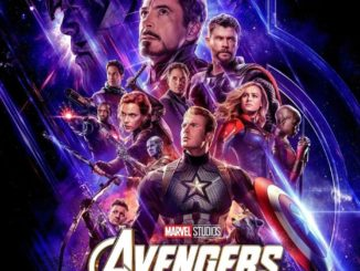 Affiche officielle d'Avengers Endgame