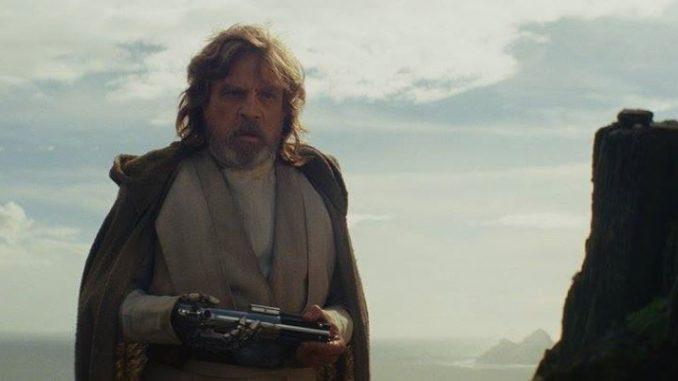 Star Wars : Les derniers Jedi Luke Skywalker (Mark Hamill) Photo : Lucasfilm Ltd. © 2017.