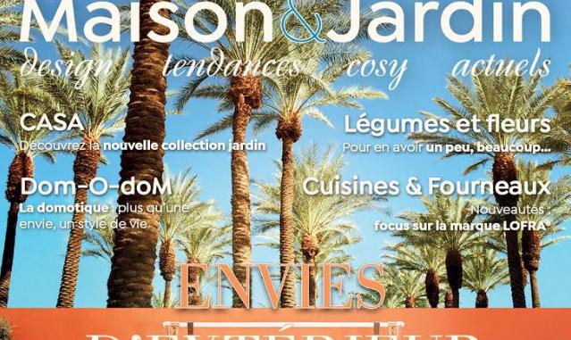 Sortie Maison et Jardin Actuels Magazine